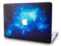 """KECC Laptop Case for New MacBook Air 13"""" Retina (2020/2019/2018, Touch ID) Plastic Case Hard Shell Cover A2179/A1932 (Blue 2)"""