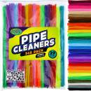 Carl & Kay [348 pcs] Pipe Cleaners [Bonus: 48 Googly Eyes] Chenille Stems for DIY Art [29 Colors, 12 pcs/Color], Creative Kid's Gift, Assorted Fuzzy Craft Sticks, Children's Craft Supplies