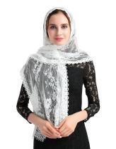 Lace Head Cover Hotsale Long Church mantilla veil chapel scarf V27