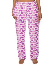Noble Mount Fleece Pajama Pants for Women - Plush Lounge Pants
