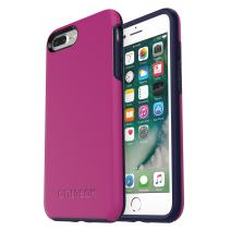 OtterBox SYMMETRY SERIES Case for  iPhone 8 Plus & iPhone 7 Plus (ONLY) - Frustration Free Packaging - MIX BERRY JAM (BATON ROUGE/MARITIME BLUE)