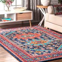 NULOOM MJSH03A Traditional Persian Skylar Area Rug