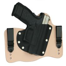 FoxX Holsters Springfield XD Subcompact 9/40 in The Waistband Hybrid Holster Tuckable, Concealed Carry Gun Holster