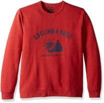 Lucky Brand Men's Casual Long Sleeve Crew Neck Graphic Sweatshirt