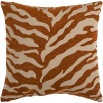 """Surya JS-028 Contemporary Hand Crafted 100% Poly Rust 22"""" x 22"""" Animal Decorative Pillow"""