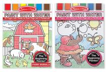 Melissa & Doug Paint with Water Bundle - Pink and Fram Animals