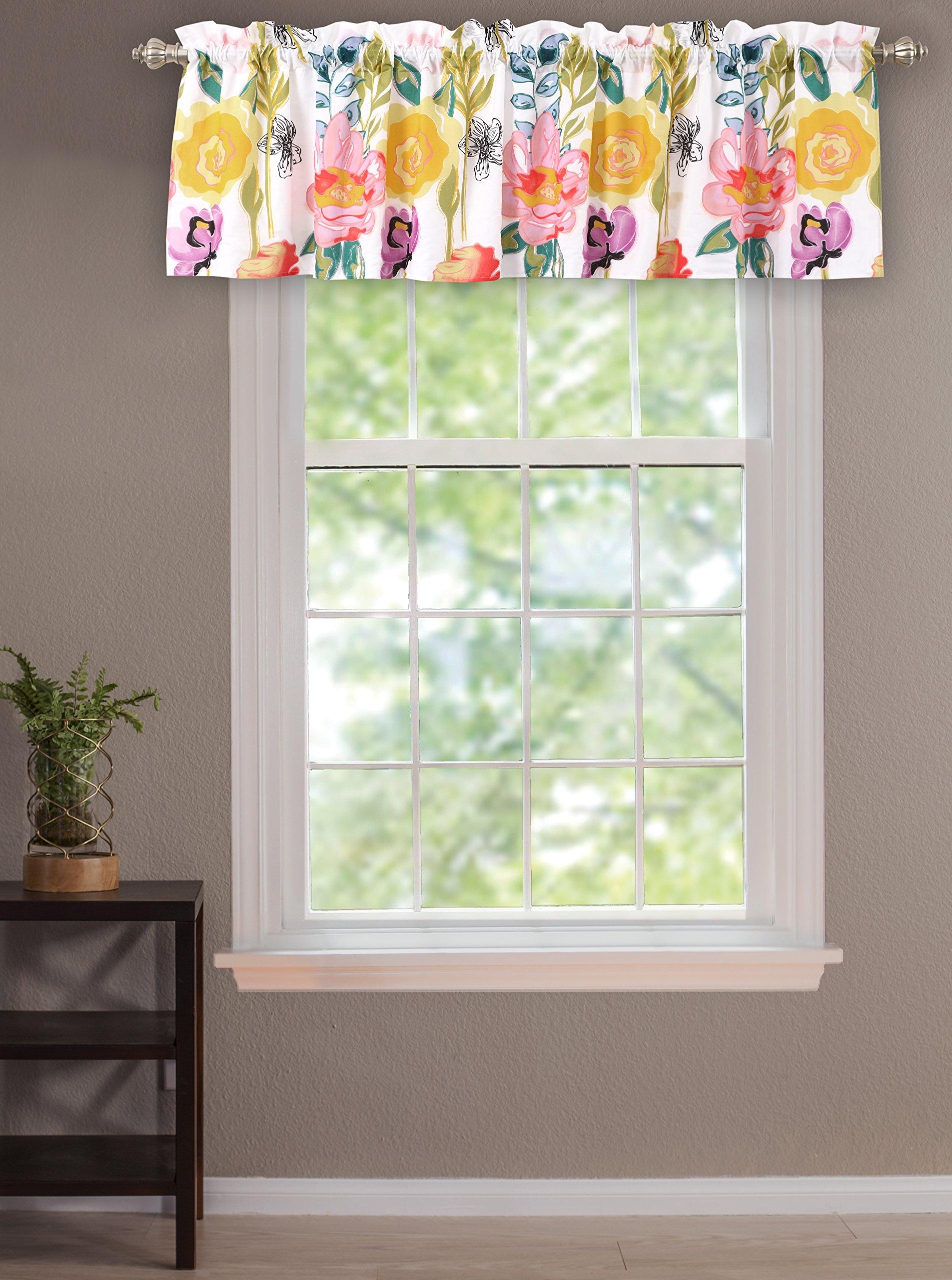 Greenland Home Watercolor Dream Window Valance