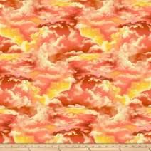 Studio E Fabrics The Lightkeeper's Quilt Clouds, Sunset