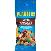 Planters Nut and Chocolate Trail Mix Single Serve Packet (2 oz Packets, Pack of 72)