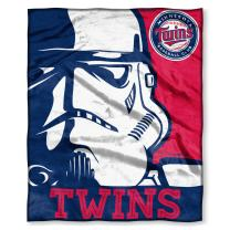 """Officially Licensed MLB Intimidation HD Silk Touch Throw Blanket, Soft & Cozy, Washable, Throws & Bedding, 50"""" x 60"""""""