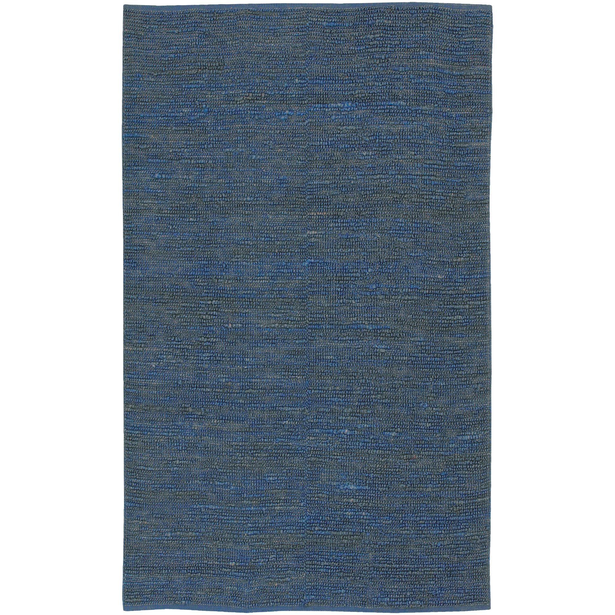 Surya Continental COT-1935 Natural Fiber Hand Woven 100% Natural Jute Midnight Blue 9' x 13' Area Rug