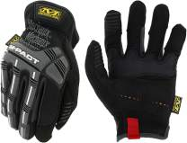 Mechanix Wear: M-Pact Open Cuff Work Gloves (X-Large, Black)