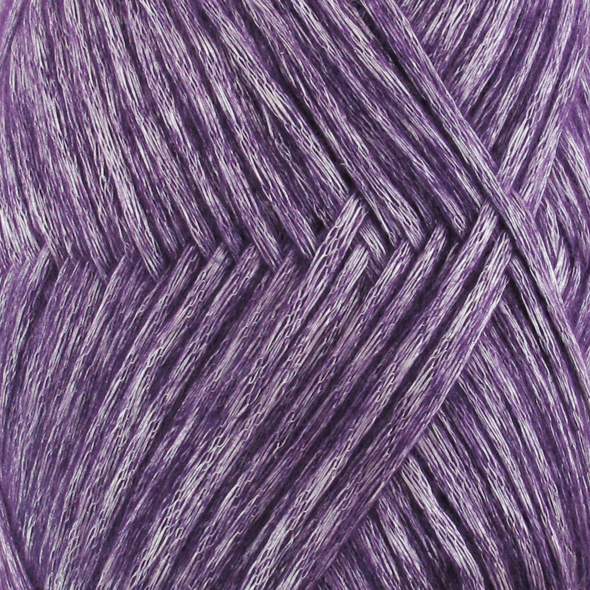 Air Breeze Yarn - Fine Light DK Weight Yarn for Socks, Sweaters, Baby Items - 50g/Skein - Passion Purple - 4 skeins
