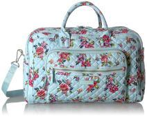 Vera Bradley Women's Signature Cotton Compact Weekender Travel Bag