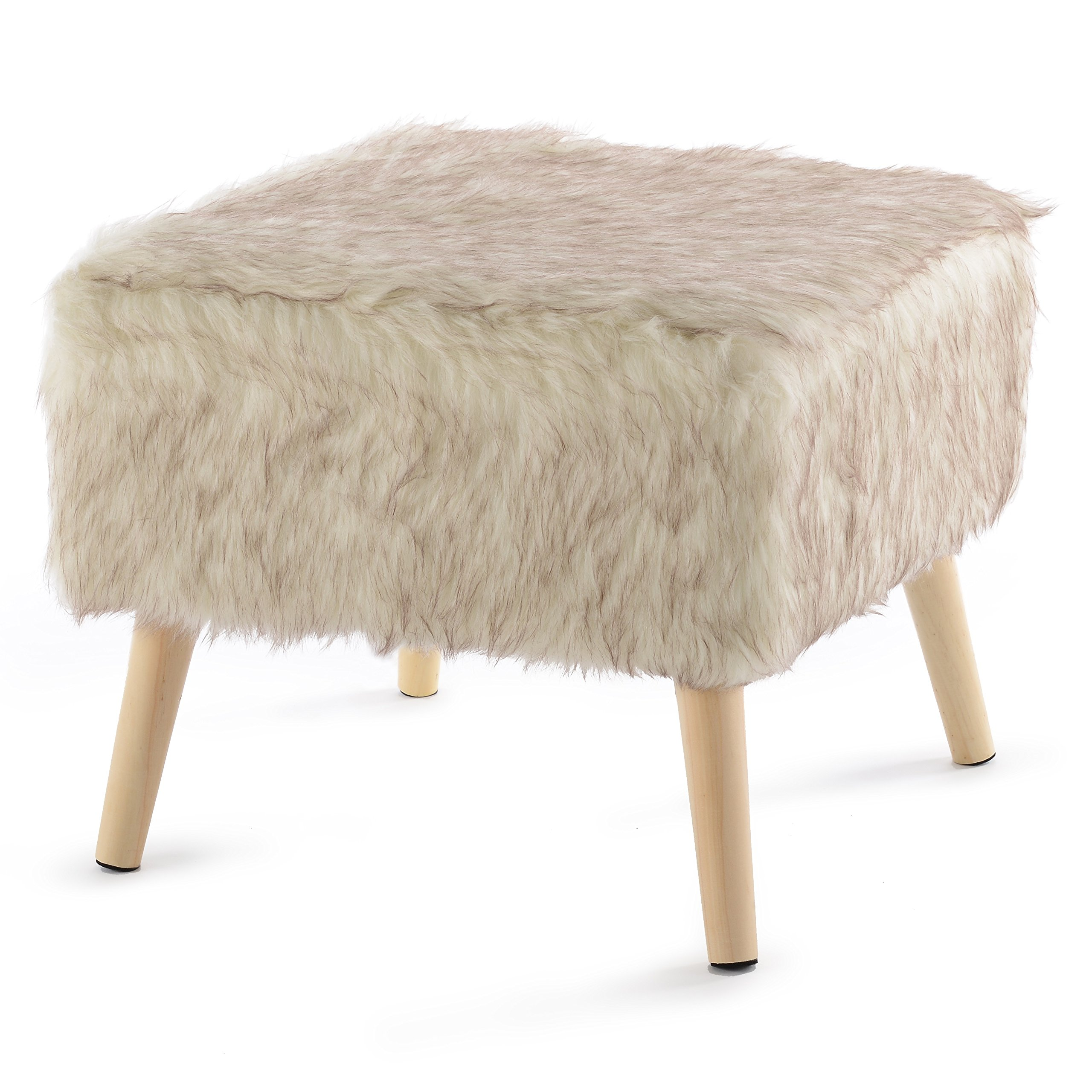 """Cheer Collection 17"""" Square Ottoman 