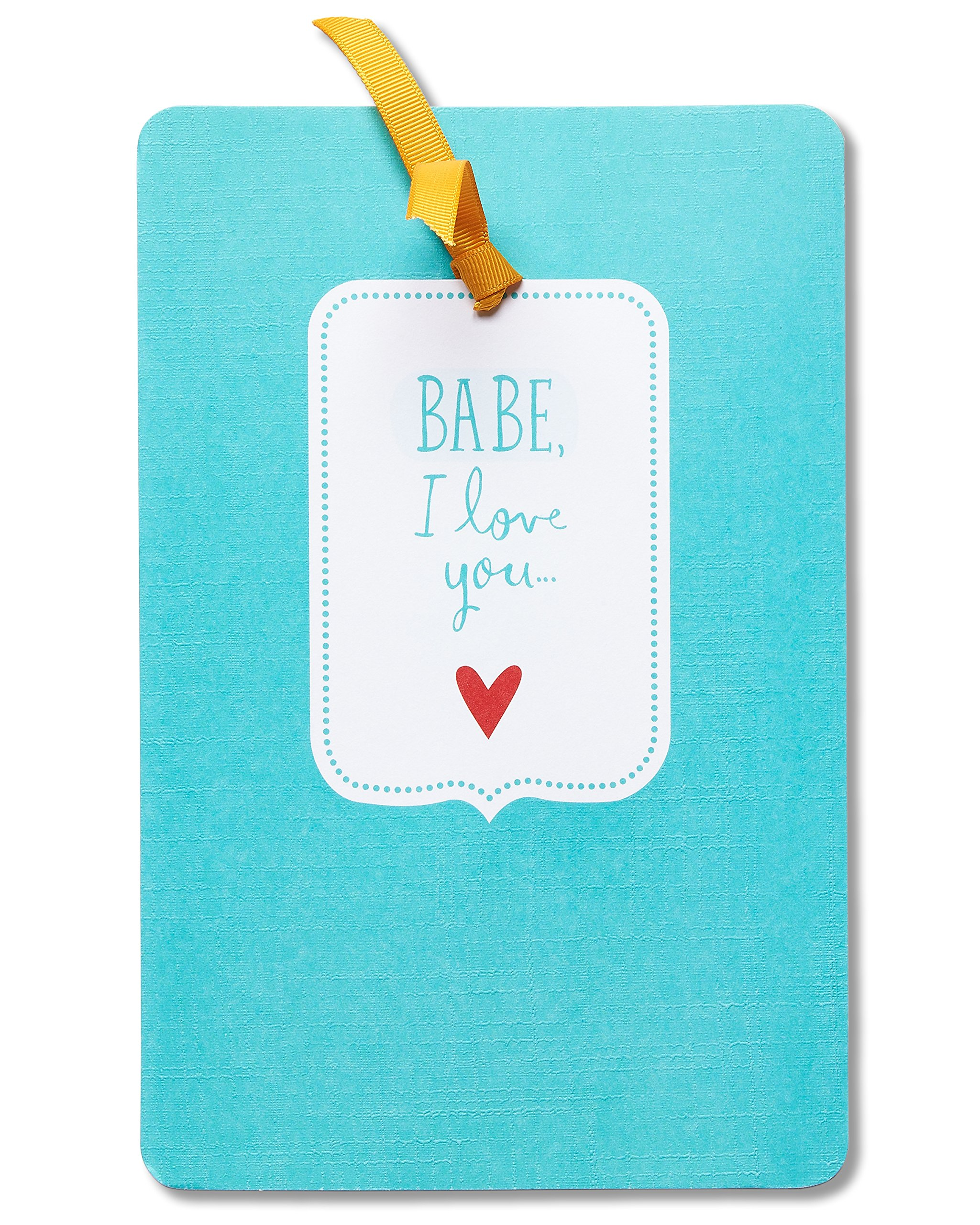 American Greetings Babe Mother's Day Card for Wife with Ribbon