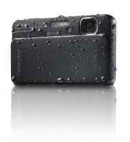 Sony Cyber-Shot DSC-TX10 16.2 MP Waterproof Digital Still Camera with Exmor R CMOS Sensor, 3D Sweep Panorama and Full HD 1080/60i Video (Black)