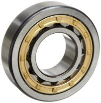 SKF NU 219 ECM Cylindrical Roller Bearing, Removable Inner Ring, Straight, High Capacity, Machined Brass Cage, Metric, 95mm Bore, 170mm OD, 32mm Width, 4000rpm Maximum Rotational Speed, 59600lbf Static Load Capacity, 49500lbf Dynamic Load Capacity