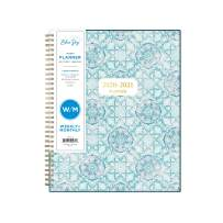 """Blue Sky 2020-2021 Academic Year Weekly & Monthly Planner, Flexible Cover, Twin-Wire Binding, 8.5"""" x 11"""", Ava"""