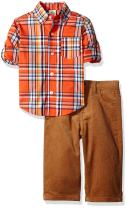 Little Me Baby Boys'' Button Down Shirt and Pants