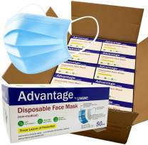 LANSWE - 3-Ply Disposable Face Masks - Volume Pricing - Available in 50 /250 / 500 / 1,000 / 2,000 pieces