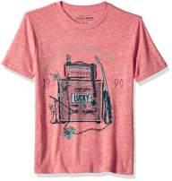 Lucky Brand Big Boys' Short Sleeve Graphic Tee Shirt