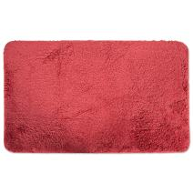"""Ultra Soft Absorbent Spa Microfiber Bath Rug, 20x33"""", Machine Washable, Perfect Bath Mat for Shower, Vanity, Bath Tub, Sink, and Toilet-Paprika Red"""