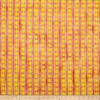 FreeSpirit Fabrics Kaffe Fassett Artisan Batik Peapods Fabric, Pink, Fabric By The Yard