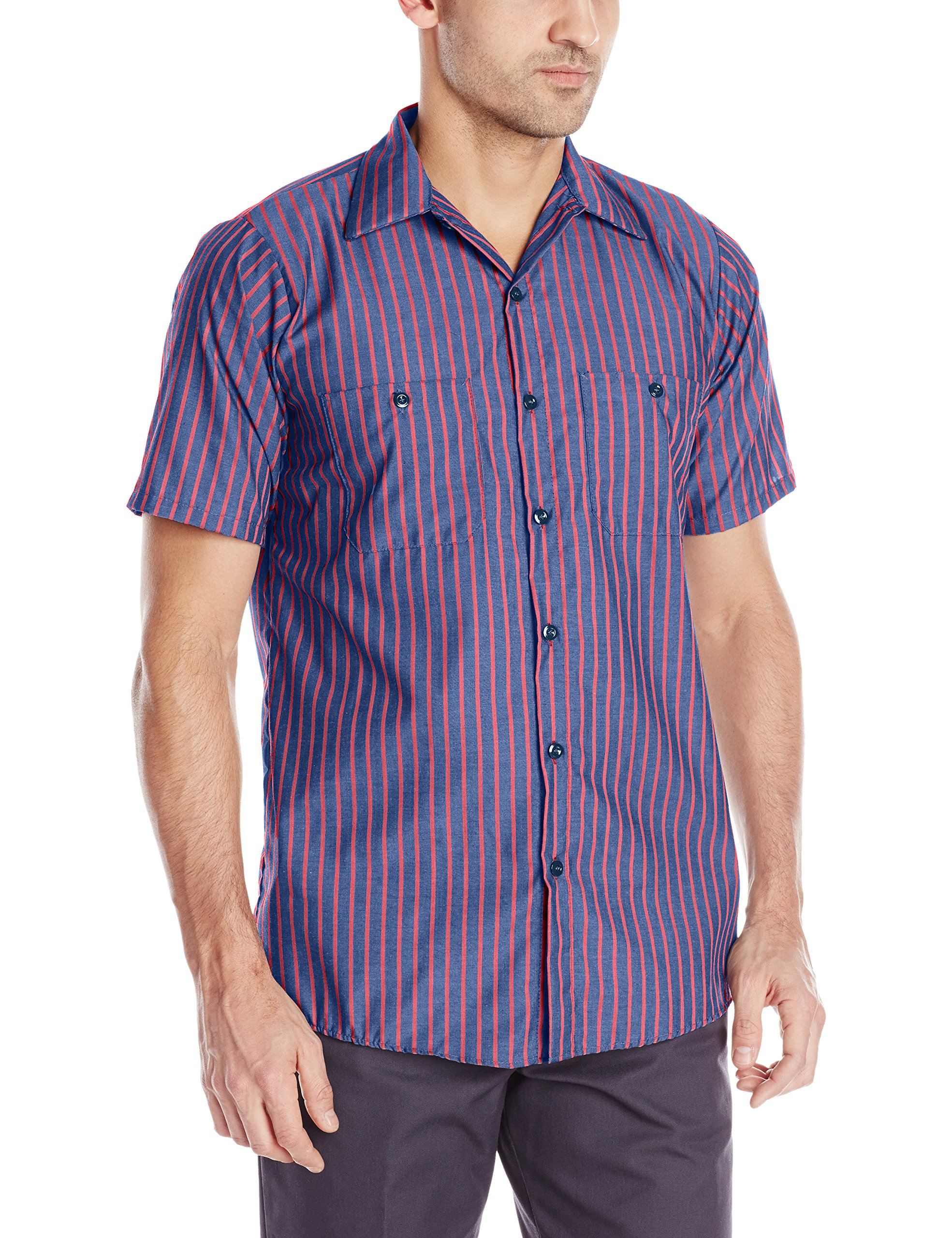 Red Kap Men's Performance Tech Shirt with Pencil Stall