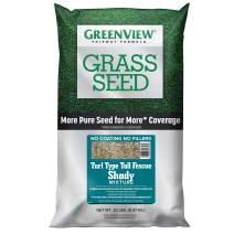 GreenView 2829351 Fairway Formula Grass Seed Turf Type Tall Fescue Shady Mixture, 20 lb