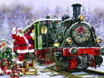 The Jigsaw Puzzle Factory 77753 Santa's Express