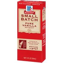 McCormick Small Batch Pure Vanilla Extract, 2 FL OZ