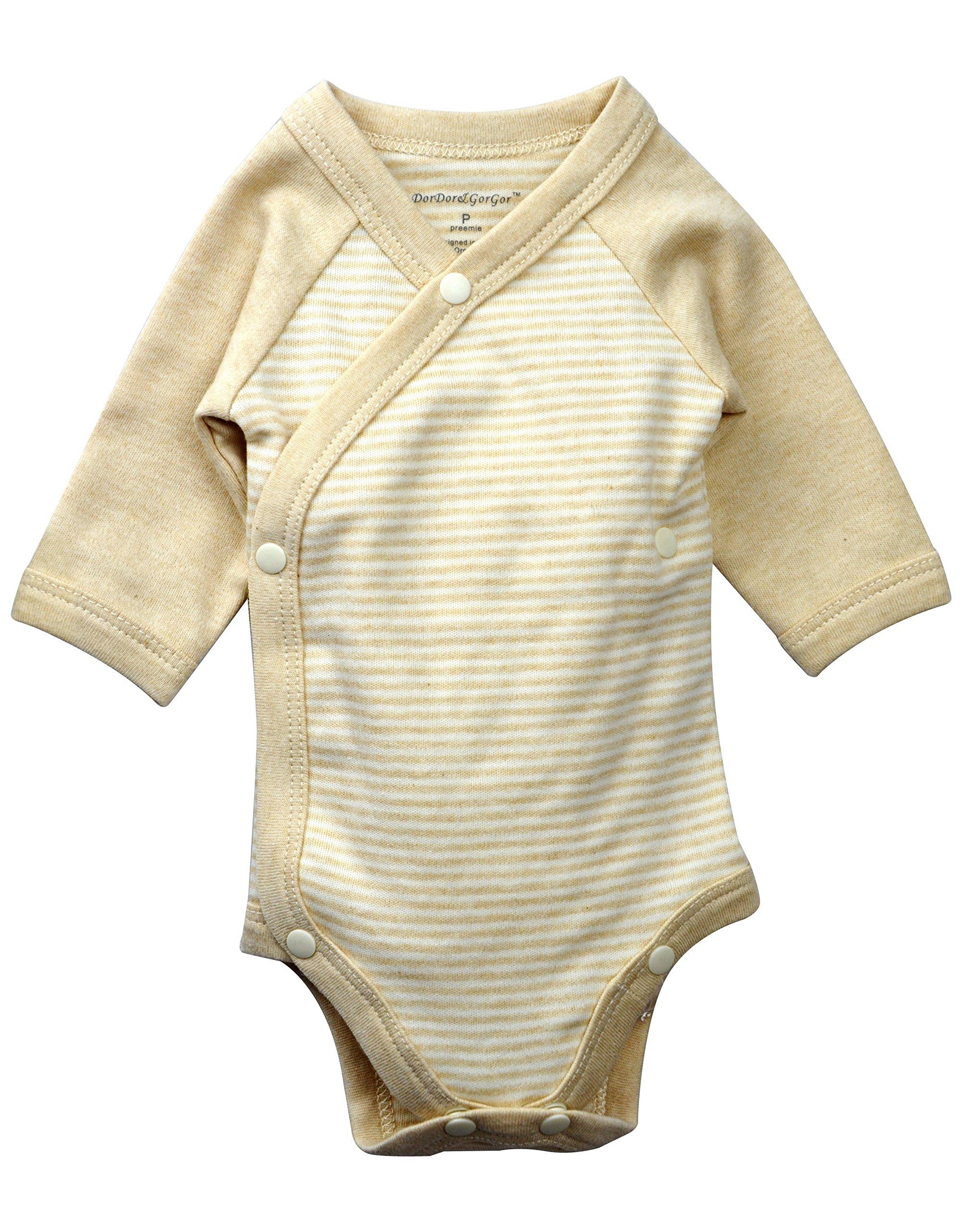 Dordor & Gorgor Baby Kimono Onesies, Organic Cotton