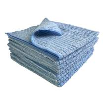 """Kitchen Kleen Kitchen Towels - 50% Microfiber/50% Cotton Cleaning Towels - Use Wet or Dry - Cleans Without Soap - Dish Drying Towel - Use Damp on Sinks and Stovetops - 16"""" x 16"""" - 4 Pack or 8 Pack"""