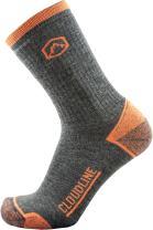 CloudLine Merino Wool Crew Hiking & Trekking Socks - Medium Cushion - for Men & Women