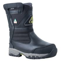 RefrigiWear Men's Extreme Pull-On Insulated Waterproof 8-Inch Freezer Work Boots