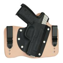 FoxX Holsters Smith & Wesson SD9VE/SD40VE IWB Hybrid Holster Tuckable, Concealed Carry Gun Holster