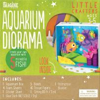 Bendon Imagine Little Crafters Aquarium Diorama Craft Kit (53744)