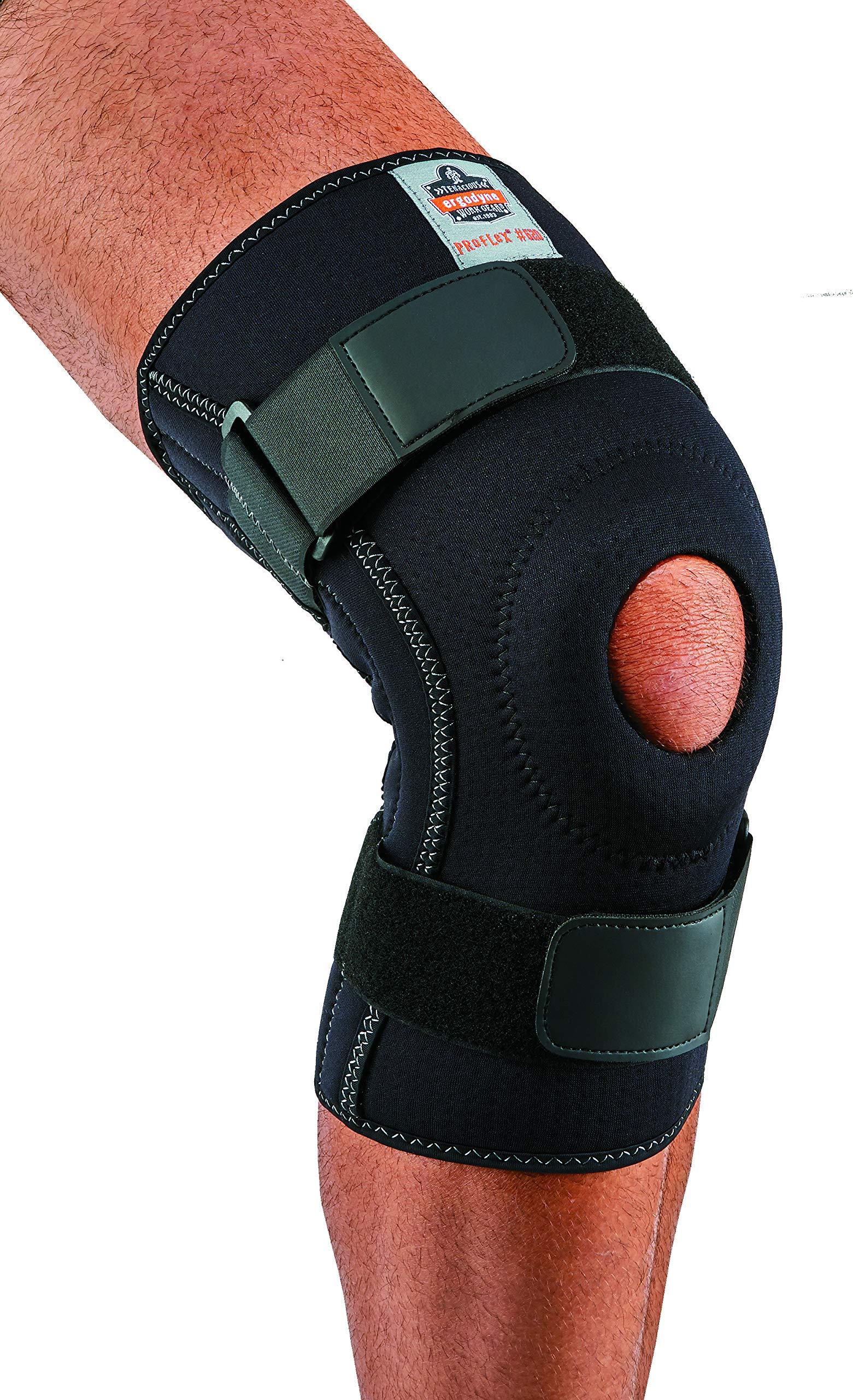 Ergodyne ProFlex 620 Knee Sleeve, Black, Small