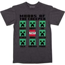 JINX Minecraft Creeper Feelings Boys' Tee Shirt