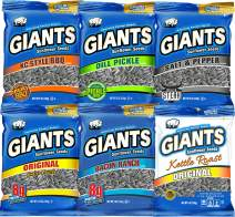 GIANTS Flavored Sunflower Seed Variety Pack 12 - Bags
