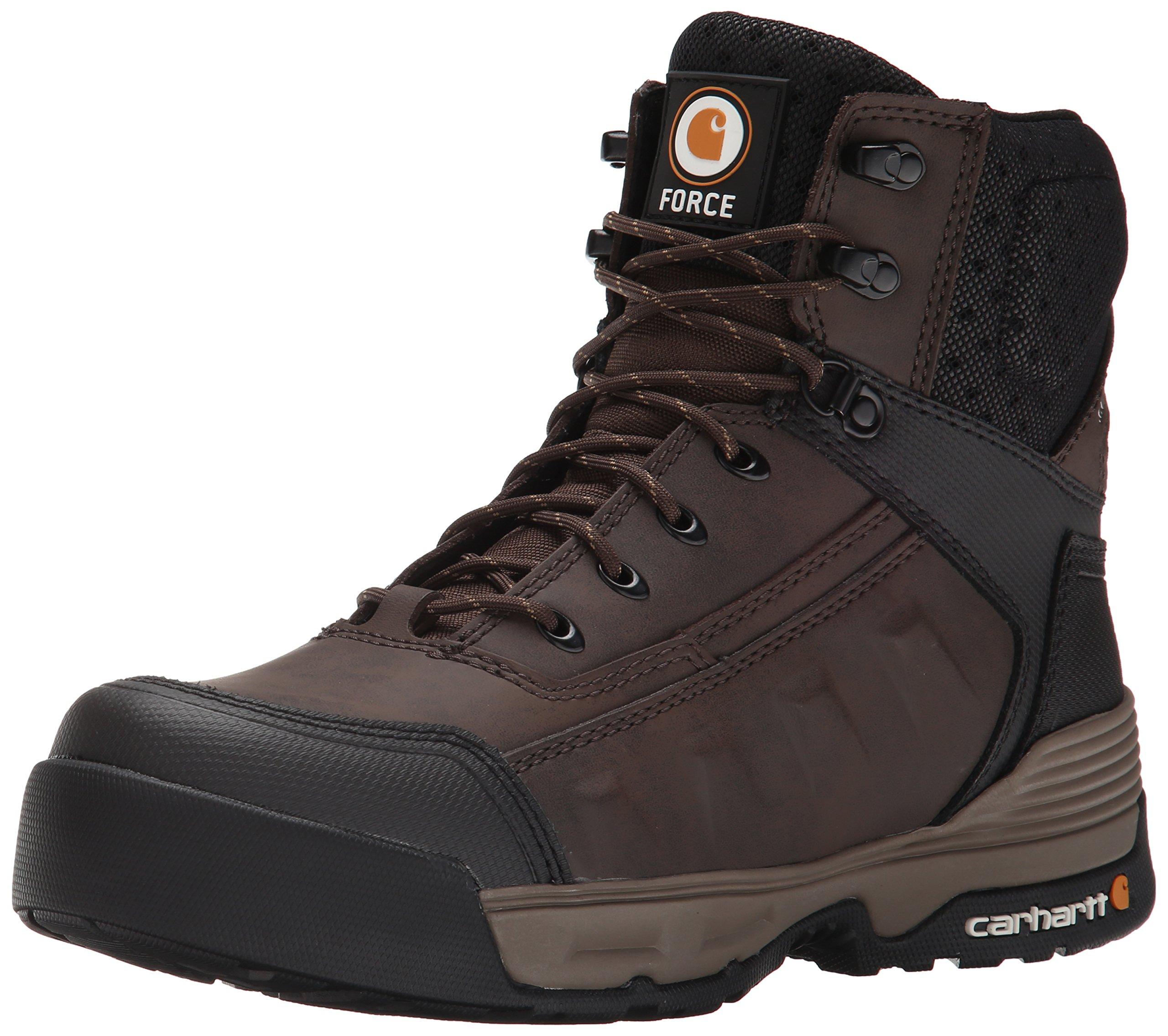 """Carhartt Men's 6"""" Force Light Weight Waterproof Work Boot"""