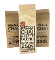 Prana Chai 3 Flavor Chai Sampler - Masala Blend Chai, Turmeric Blend Chai, Peppermint Blend Chai