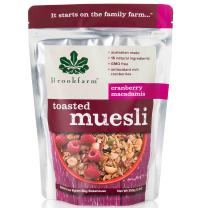 Brookfarm Toasted Macadamia Muesli Granola, 12.35-Ounce Bag (350g)
