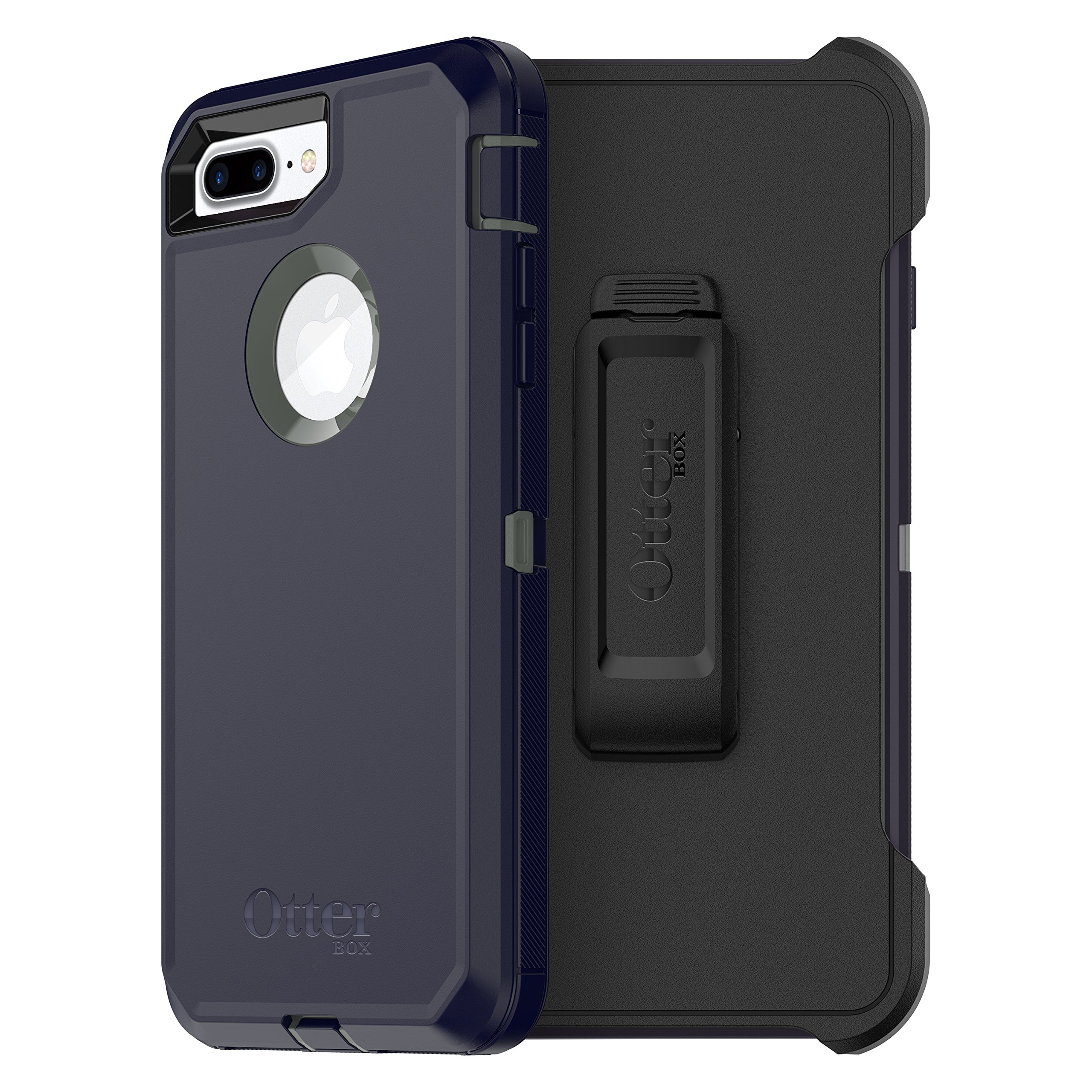 Otterbox Defender Series Case for  Iphone 8 Plus & Iphone 7 Plus  - Frustration Free Packaging - Stormy Peaks (Agave Green/Maritime Blue)
