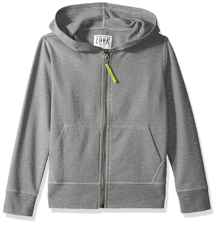 Amazon/ J. Crew Brand- LOOK by crewcuts Boys' Zip Front Hoodie
