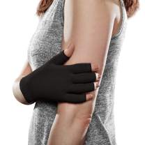Ease Opaque Lymphedema Glove - Large - Black - 30-40 mmHg