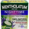 Mentholatum Nighttime Vaporizing Rub with soothing Lavender essence, 1.76 oz. (50 g) - 100% Natural Active Ingredients for Maximum Strength Cough Relief