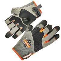 ProFlex 720 Framer Work Glove, High Dexterity, Padded Palm, Large