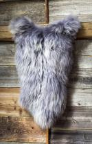 "ESTRO | Genuine Icelandic Sheepskin Lambskin Rug | Lustrous and Luxurious | Colour Variety ESI (44"", Grey)"